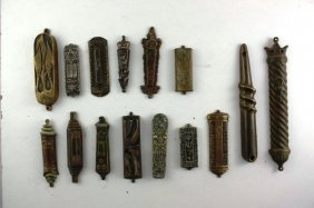 Collection Of Mezuzah Cases