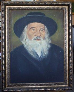 Portrait Of The Rebbe Of Nadvorna Rabbi Itamar