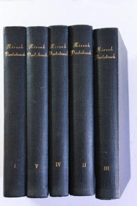Chamisha Chumshei Torah with the Commentary of the