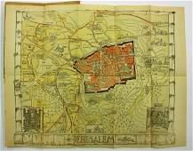 Map of Jersalem  the British Mandate