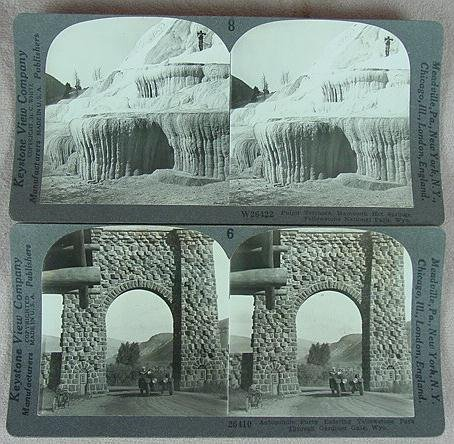 """307: BOXED SET STEREO CARD """"NATIONAL PARK"""""""