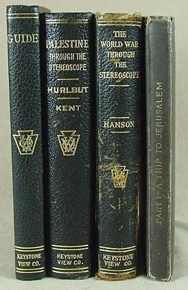 308: 4 STEREO VIEW BOOKS KEYSTONE