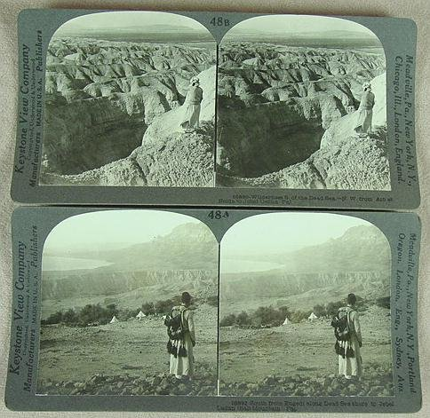 311: BOXED SET STEREO CARD PALESTINE
