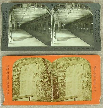 357: 194 STEREO CARDS NEW YORK STATE