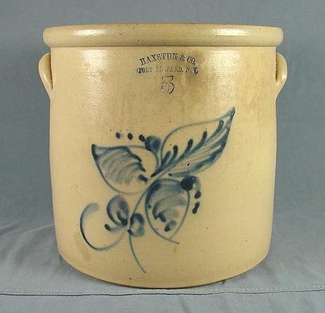 53: 5 Gallon Stoneware Jar