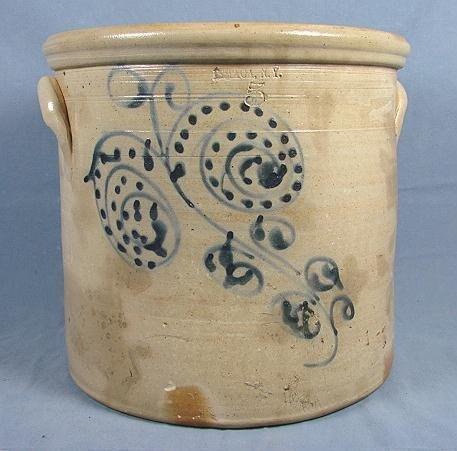 54: 5 Gallon Stoneware Jar