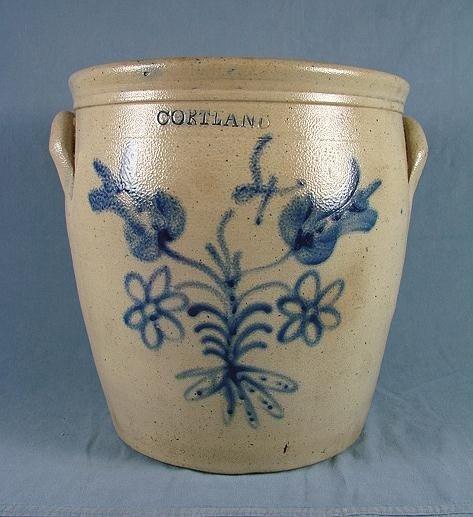 56: 4 Gallon Stoneware Jar