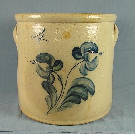 57: 4 Gallon Stoneware Jar