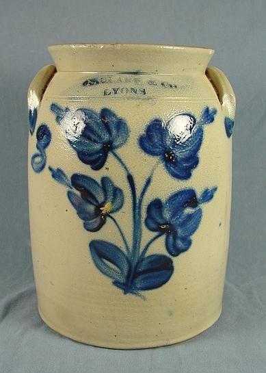 63: 3 Gallon Stoneware Jar