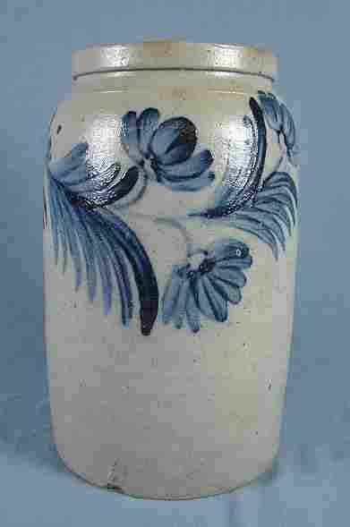 19th Century Stoneware Jar