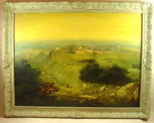17: PAINTING OF JERUSALEM