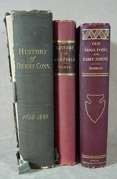 303: THREE VILLAGE HISTORY BOOKS