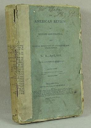 1: American Review of History 1811