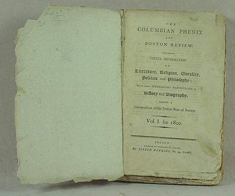 6: Columbian Phenix and Boston Review. 1800