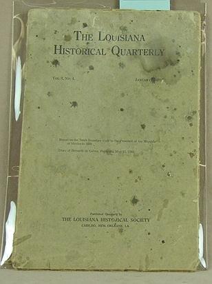 15: Louisiana Historical Quarterly 1917