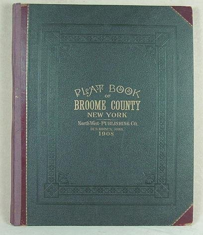 21:  Plat Book of Broome County, New York. 1908
