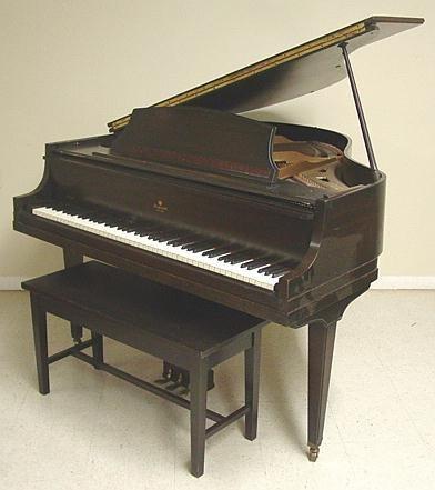 499A: BABY GRAND PIANO AEOLIAN Retailed by STUYVESANT