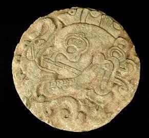 Important Published Pre Columbian Mayan Ballcourt