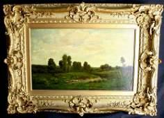 Barbizon Masterpiece Oil - Charles Francois Daubigny
