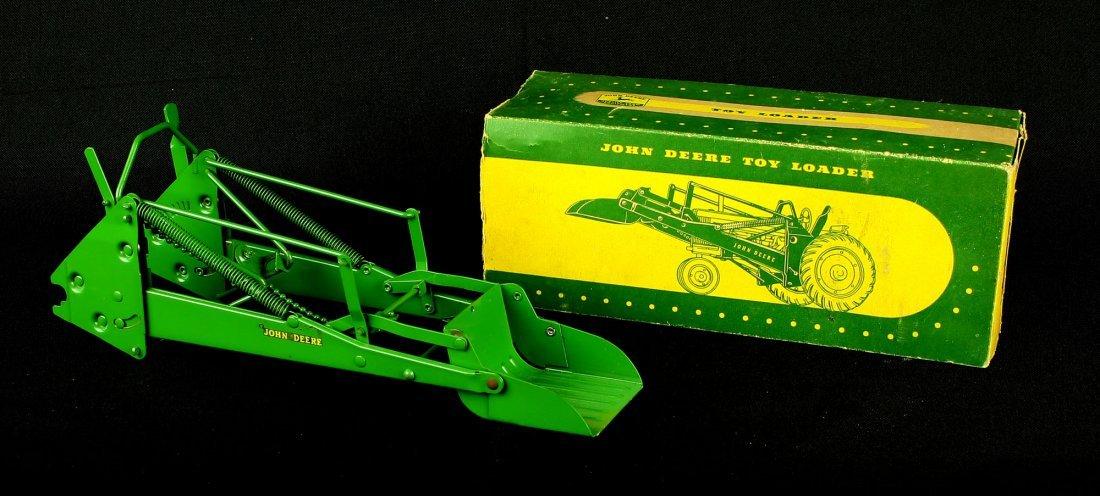 Vintage 1950's John Deere Toy Loader with Original Box