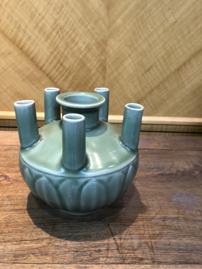 South Longquan kiln five bottles