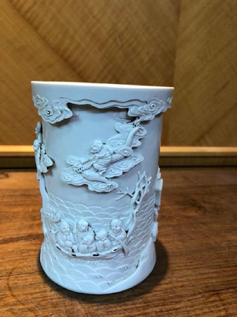 Qing Dynasty Qianlong Guan Yao 18 arhat figure