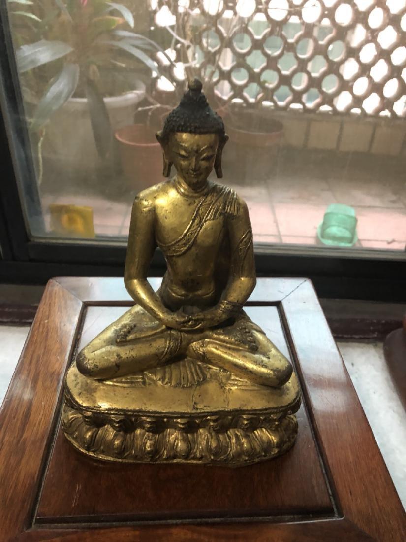 Yuan Dynasty Tibetan bronze Buddha - 5