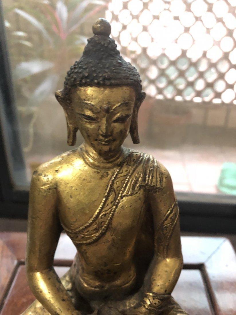 Yuan Dynasty Tibetan bronze Buddha - 7