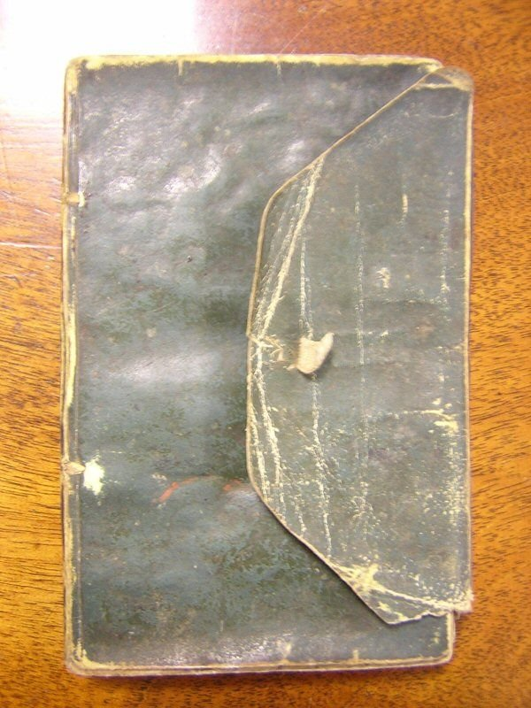 176: SAMUEL NAHL NOTEBOOK