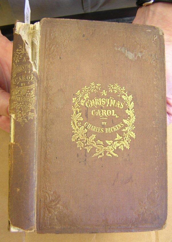 239: DICKENS, CHARLES. A CHRISTMAS CAROL, 1st Edition