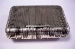 251: SILVER SNUFF BOX