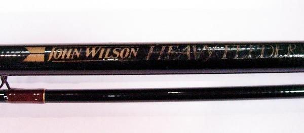 1003: A JOHN WILSON CARBON HEAVY FEEDER QUIVER TIP ROD
