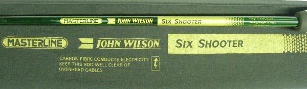 1009: MASTERLINE - JOHN WILSON SIX SHOOTER SPINNING