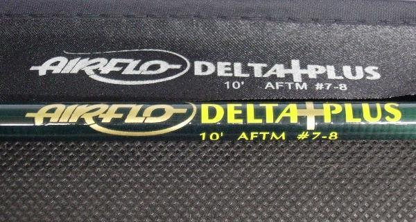 1016: AIRFLO - DELTA PLUS FLY ROD, 3PCE, 10FT #7/8 WITH