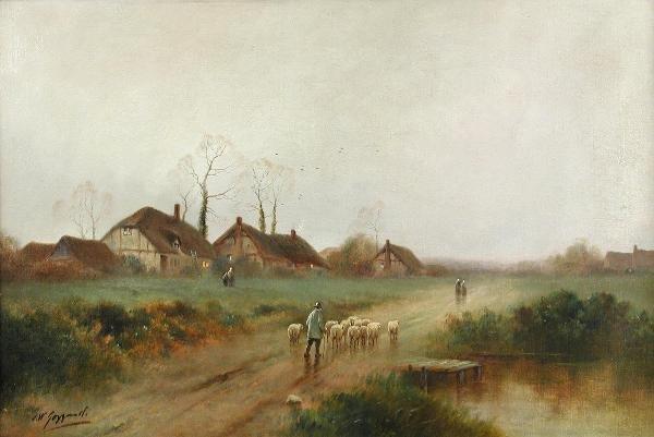 42: JAMES WALTER GOZZARD (ENGLISH, 1888-1950)