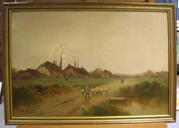 42: JAMES WALTER GOZZARD (ENGLISH, 1888-1950) - 2
