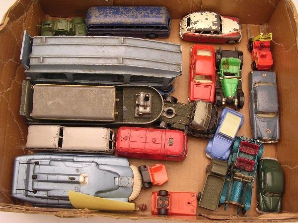 2011: DIECAST VARIOUS, INCLUDING DINKY OBSERVATION COAC