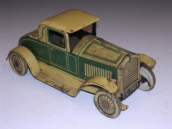 2019: TIPP AND CO TINPLATE CLOCKWORK LIMOUSINE WITH DRI