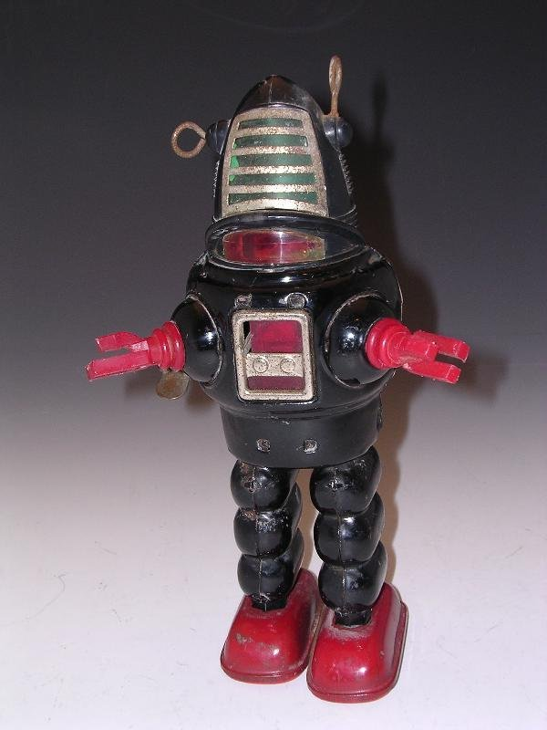 2023: JAPANESE TINPLATE CLOCKWORK ROBBIE THE ROBOT