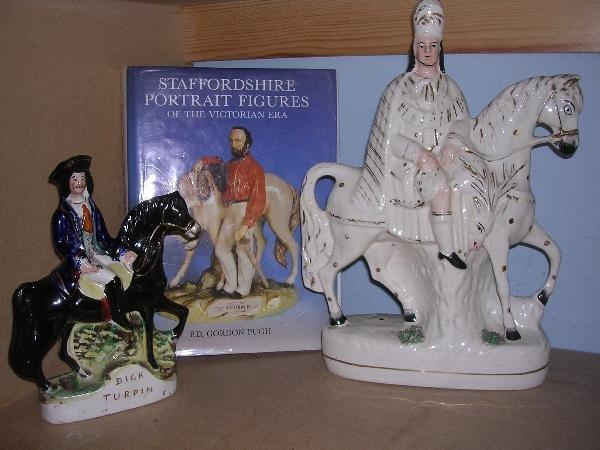 17: A STAFFS SCOTSMAN,TURPIN + BOOK
