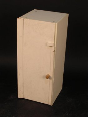 675: AN ADAPTED KITCHEN CUPBOARD, THE FORMICA FRAME
