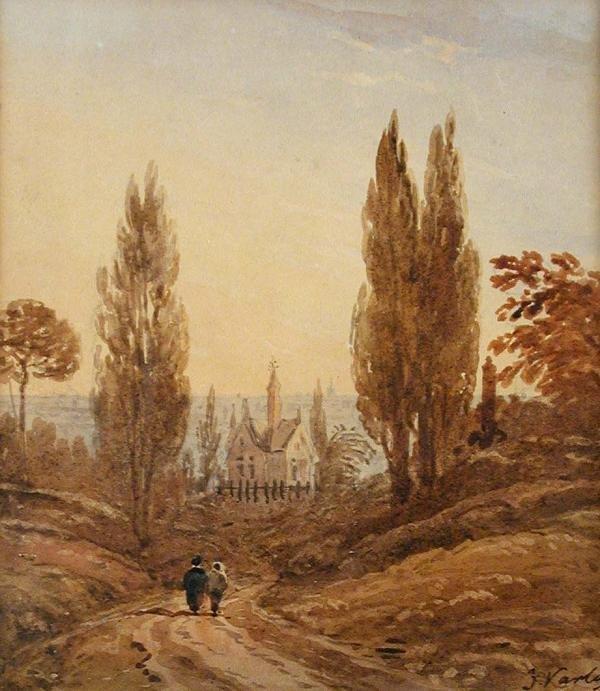 760: JOHN VARLEY, SEN, RWS (1778-1842)