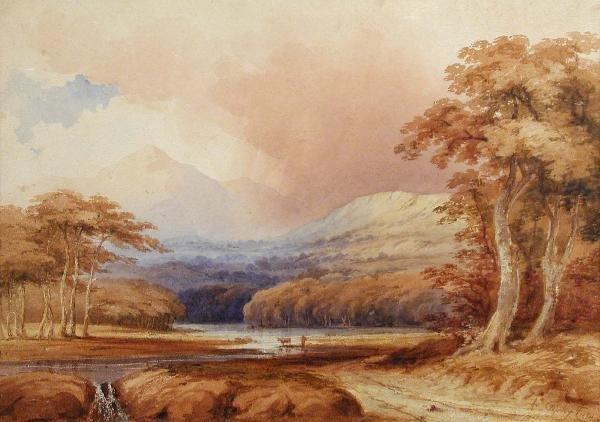 761: ANTHONY VANDYKE COPLEY FIELDING (1787-1855)