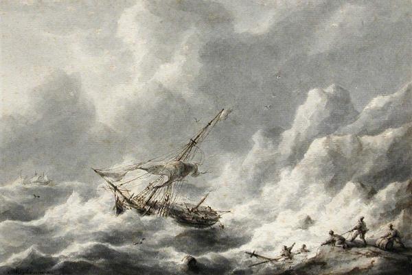 766: MARTINUS SCHOUMAN (DUTCH, 1770-1848)