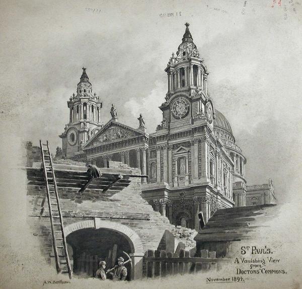 771: A W BENTHAM (ENGLISH, EXH.1893-1906)
