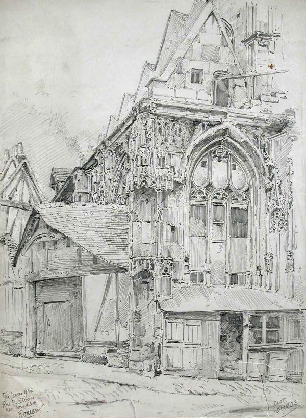 772: A W BENTHAM (ENGLISH, EXH.1893-1906)
