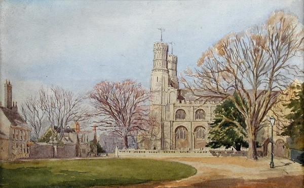 774: A W BENTHAM (ENGLISH, EXH.1893-1906)