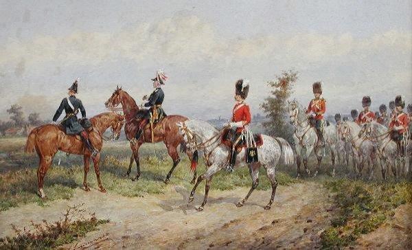776: GERALD LE MARCHANT DE SAUMAREZ (BRITISH, 1859-1941