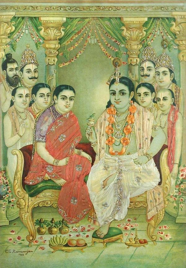 373: RAJA RAVI VARMA (INDIAN, 1848-1906)