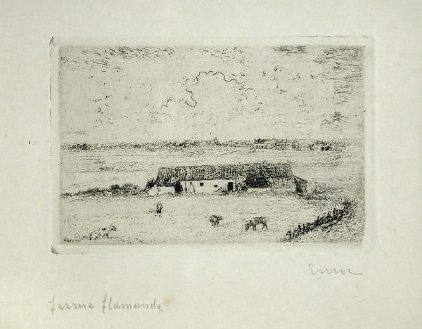 374: JAMES ENSOR (BELGIAN, 1860-1949)